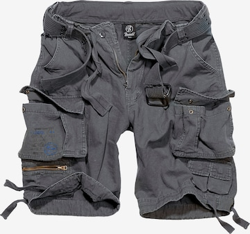Brandit Klapptaskutega püksid, värv hall