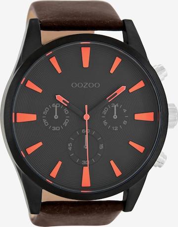 OOZOO Uhr in Braun