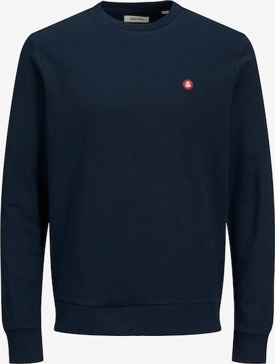 JACK & JONES Sweatshirt in navy / rot / weiß, Produktansicht