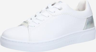 Sneaker low 'Elea' bugatti pe argintiu / alb, Vizualizare produs