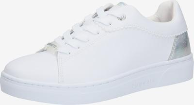bugatti Baskets basses 'Elea' en argent / blanc, Vue avec produit