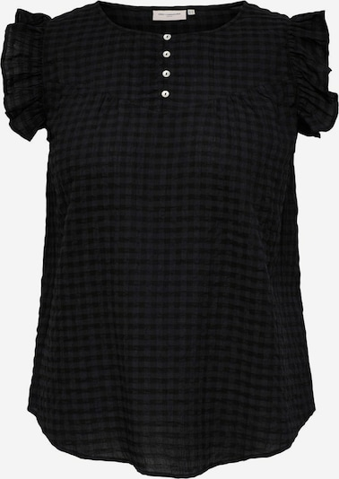 ONLY Carmakoma Blusa 'PELLE' en negro, Vista del producto