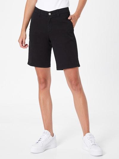 SELECTED FEMME Shorts 'MILEY' in schwarz, Modelansicht