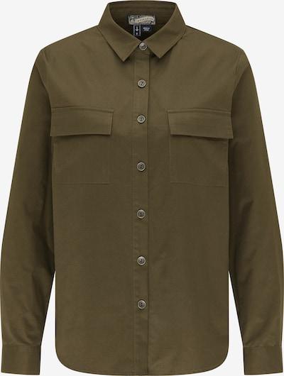 DreiMaster Vintage Blouse in de kleur Groen / Olijfgroen, Productweergave