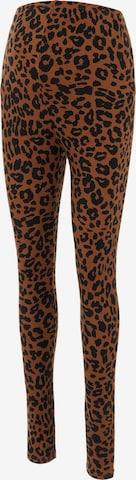 MAMALICIOUS Leggings 'Pilar' in Brown