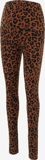 MAMALICIOUS Leggings 'Pilar' in Brown / Black, Item view