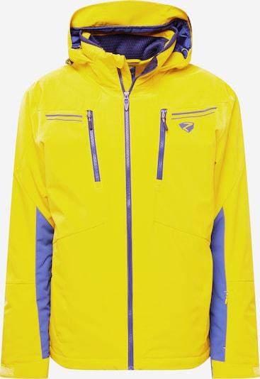 ZIENER Outdoor jacket 'TINTU' in Mustard / Dark purple, Item view