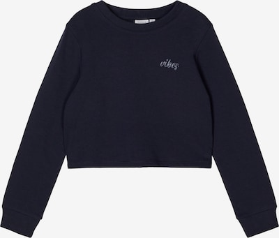 NAME IT Sweatshirt 'Tinturn' in navy, Produktansicht