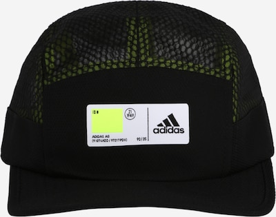ADIDAS PERFORMANCE Sportpet '5P TECH' in de kleur Zwart / Wit, Productweergave