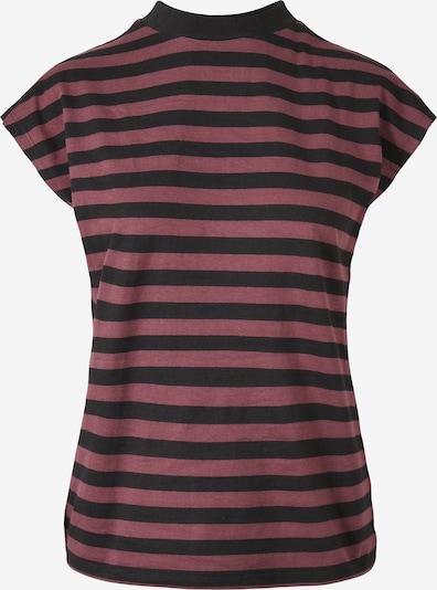 Urban Classics Curvy Koszulka w kolorze jagoda / czarnym, Podgląd produktu