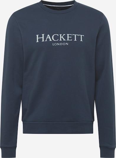 Hackett London Sudadera en azul paloma / blanco, Vista del producto