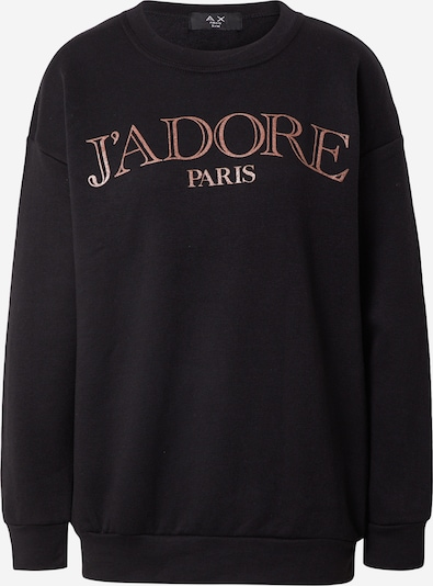 Bluză de molton AX Paris pe arămiu / negru, Vizualizare produs