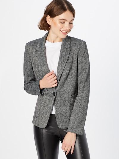 COMMA Blazer in schwarz / weiß, Modelansicht