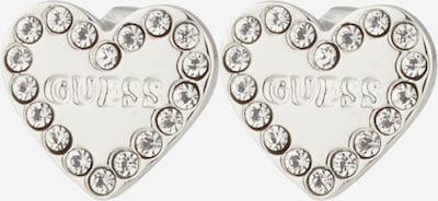 ezüst / fehér GUESS Fülbevalók, Termék nézet