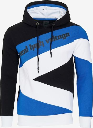 Rusty Neal Kapuzenpullover in blau / schwarz / weiß, Produktansicht