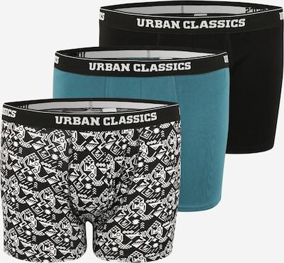 Urban Classics Plus Size Bokserid tuvisinine / must / valge, Tootevaade