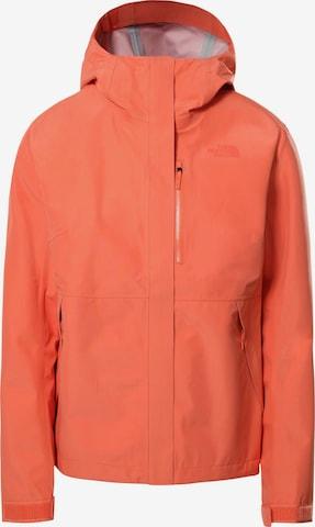 Veste outdoor 'Dryzzle' THE NORTH FACE en orange