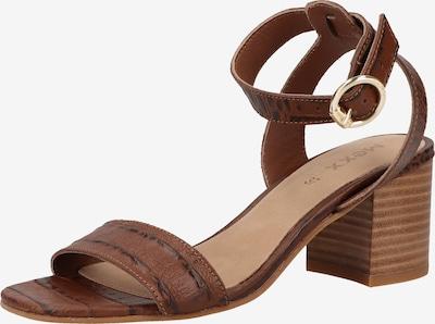 MEXX Sandale in ocker / schwarz, Produktansicht