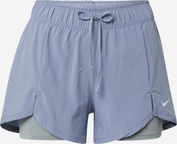 NIKE Spodnie sportowe w kolorze niebieski