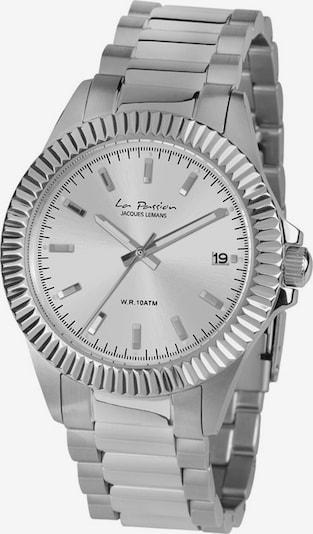 Jacques Lemans Uhr in silber, Produktansicht