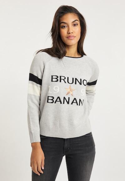 BRUNO BANANI Pullover in grau, Modelansicht