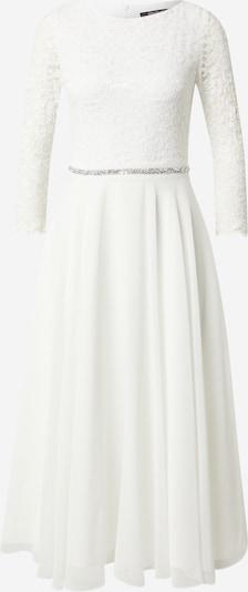Rochie de cocktail SWING pe alb, Vizualizare produs