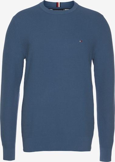 TOMMY HILFIGER Pullover in blau / rot / weiß, Produktansicht