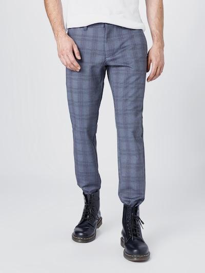 Only & Sons Broek in de kleur Donkerblauw / Grijs / Pastelrood, Modelweergave