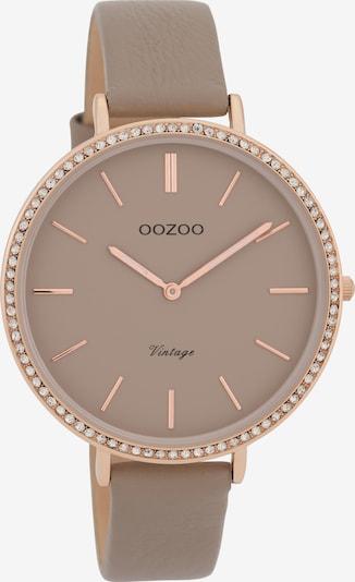 OOZOO Uhr 'C9801' in taupe, Produktansicht