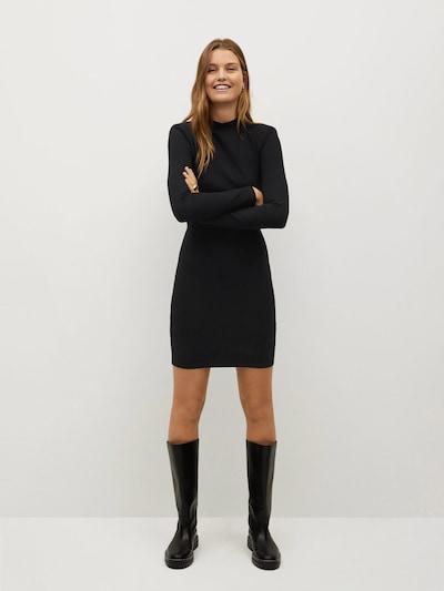 MANGO Kleid 'Rosario' in schwarz, Modelansicht