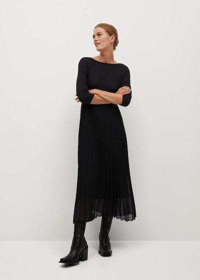 MANGO Kleid 'Caldero' in schwarz, Modelansicht