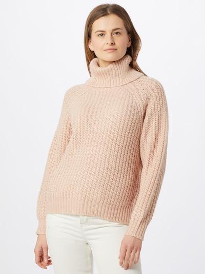VILA Sweter w kolorze pudrowym, Podgląd na modelu(-ce)