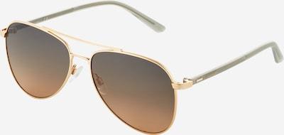 Calvin Klein Aurinkolasit '21306S' värissä kulta / vaaleanharmaa, Tuotenäkymä