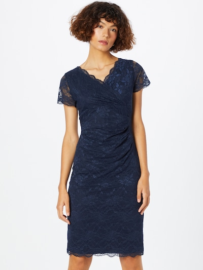 SWING Cocktail Dress in Navy, View model