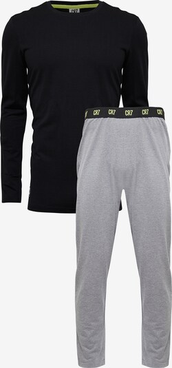CR7 - Cristiano Ronaldo Pyjama ' BASIC ' in schwarz, Produktansicht