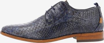 Chaussure à lacets ' GREG SNAKE FANTASY ' Rehab en bleu