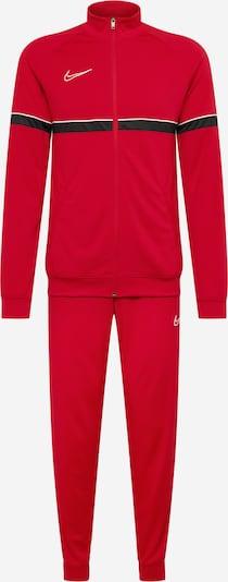 Sportinis kostiumas 'Academy' iš NIKE, spalva – raudona / juoda / balta, Prekių apžvalga