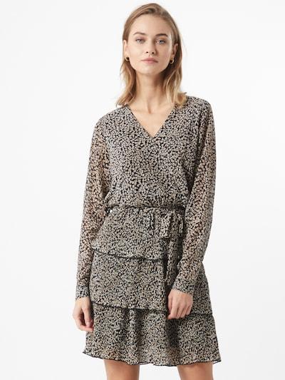 SISTERS POINT Šaty 'Nekko' - hnědá / černá / bílá, Model/ka