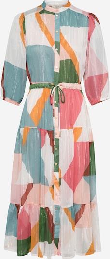 Suncoo Robe-chemise 'Celena' en crème / bleu clair / émeraude / orange / rosé, Vue avec produit