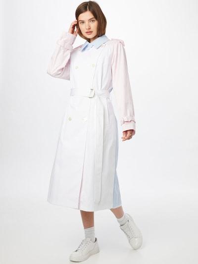 TOMMY HILFIGER Mantel in rosa / hellpink / weiß, Modelansicht