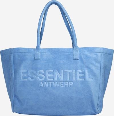 Essentiel Antwerp Cabas 'Zasha' en bleu, Vue avec produit
