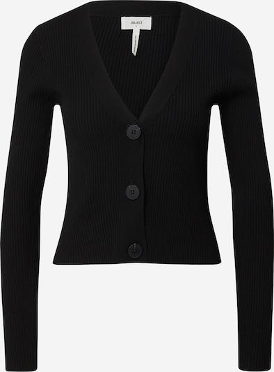 OBJECT Cardigan 'EVA' en noir, Vue avec produit
