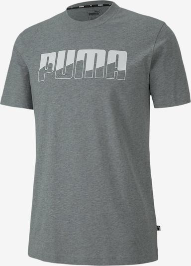 PUMA Functioneel shirt in de kleur Grijs / Wit, Productweergave