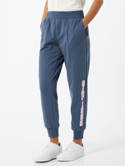 GAP Kalhoty - modrá / růžová / bílá, Model/ka