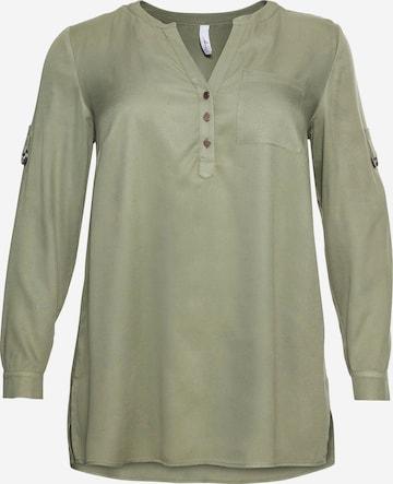 SHEEGO Tunika i grønn