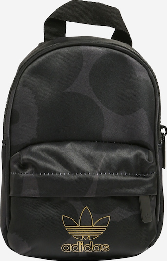 ADIDAS ORIGINALS Rugzak 'Marimekko' in de kleur Oker / Donkergrijs / Zwart, Productweergave