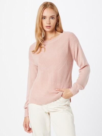 VILA Пуловер в антично розово: Изглед отпред