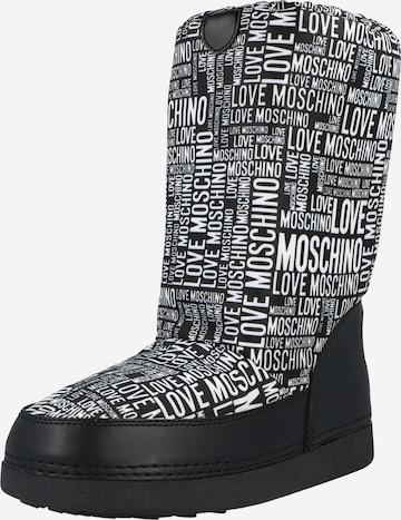 juoda Love Moschino Sniego batai