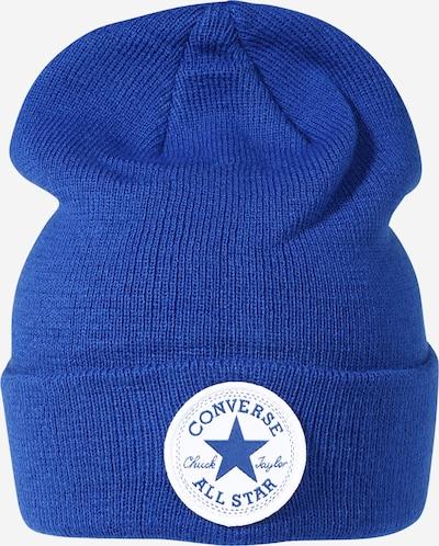 CONVERSE Mütze in blau / weiß, Produktansicht