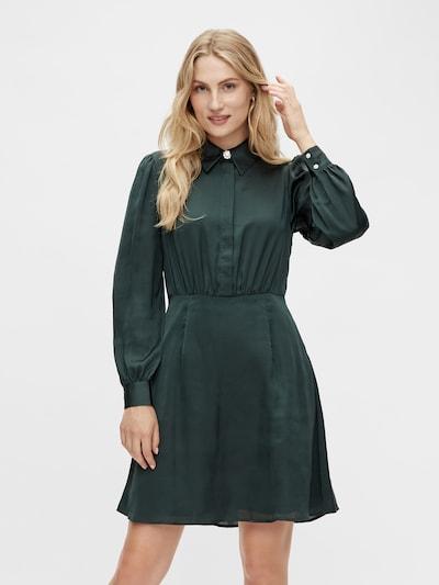 VILA Shirt Dress in Dark green, View model